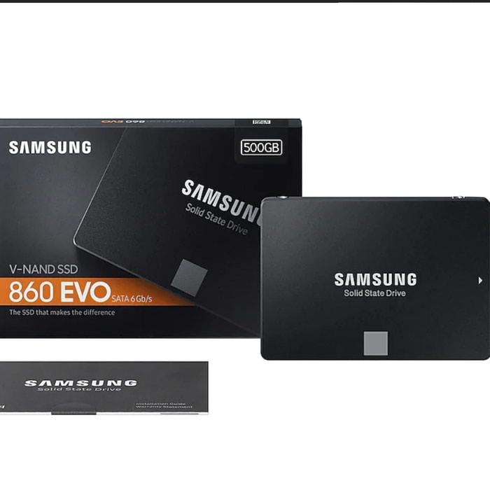 SAMSUNG SSD 860 EVO 500 Gb.Yenidir!!!. Photo 1