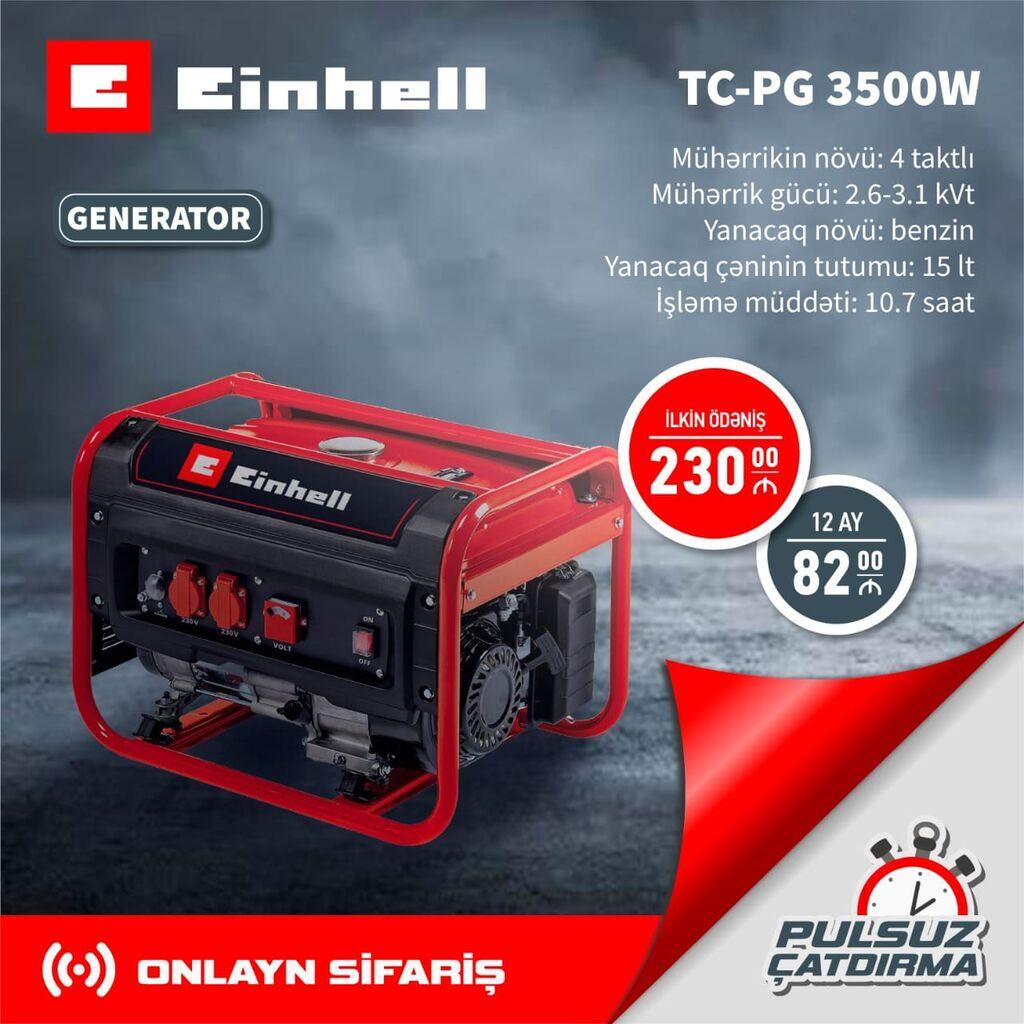 Generator Einhell 2