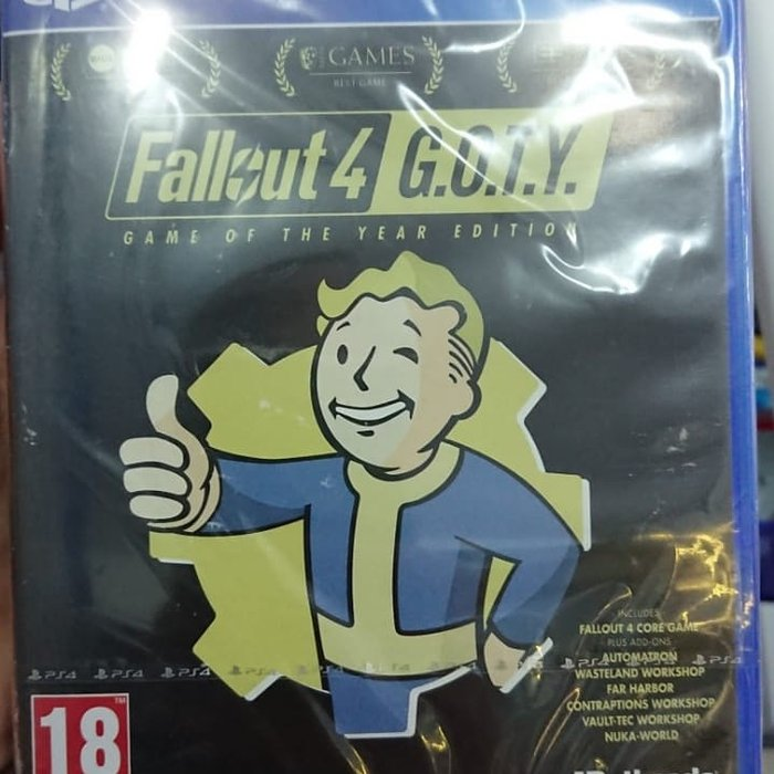 Bakı şəhərində Fallout 4 game of the year edition