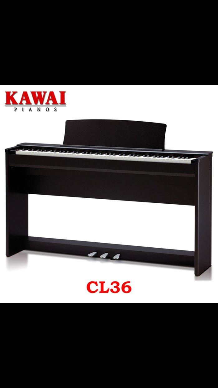 Фортепиано цифровое Kawai CL36 обеспечивает ту же функциональность и компактность, что и cl26, в то время предлагает ряд усовершенствованных функций