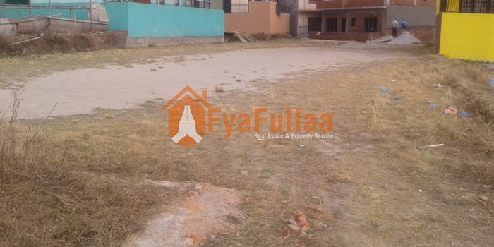 a beautiful residential land having area 1-1-0-0, facing west, 10 in Kathmandu