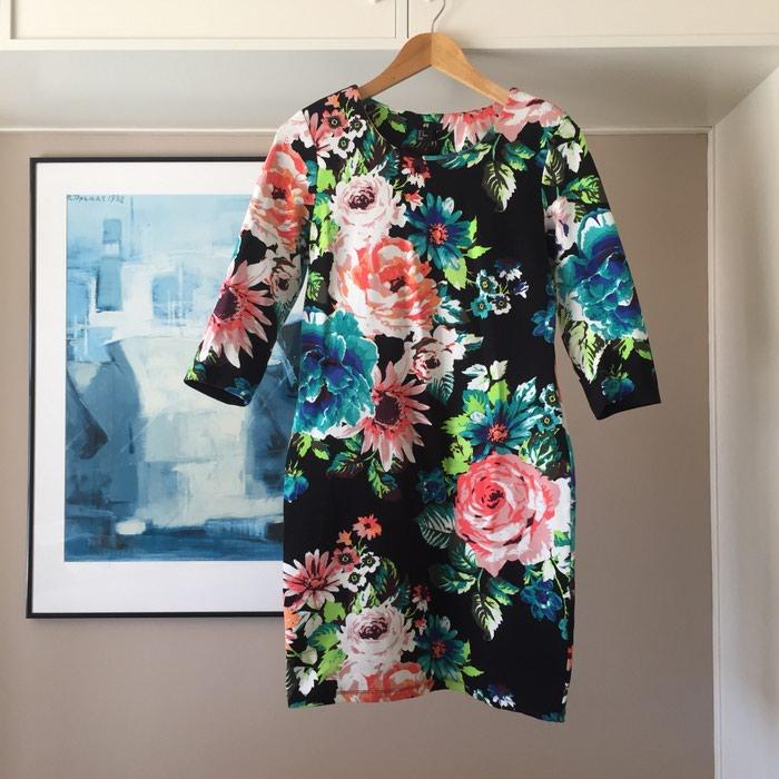 Ολοκαίνουργιο H&M μαύρο floral φόρεμα.. Photo 7