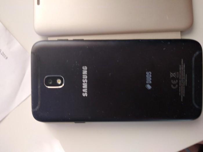 Μεταχειρισμένο Samsung Galaxy J7 2017 32 GB μαύρος. Photo 1