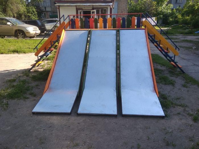 Детские горки!!! одно, двух, трёх скатные! отличное решение для дворовых детских площадок! прекрасно подходит для небольших детских садов с небольшой территорией
