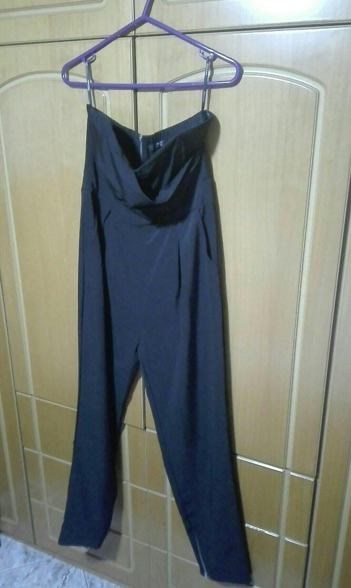 Ολοσωμη φορμα μαυρη large strapless. Photo 1