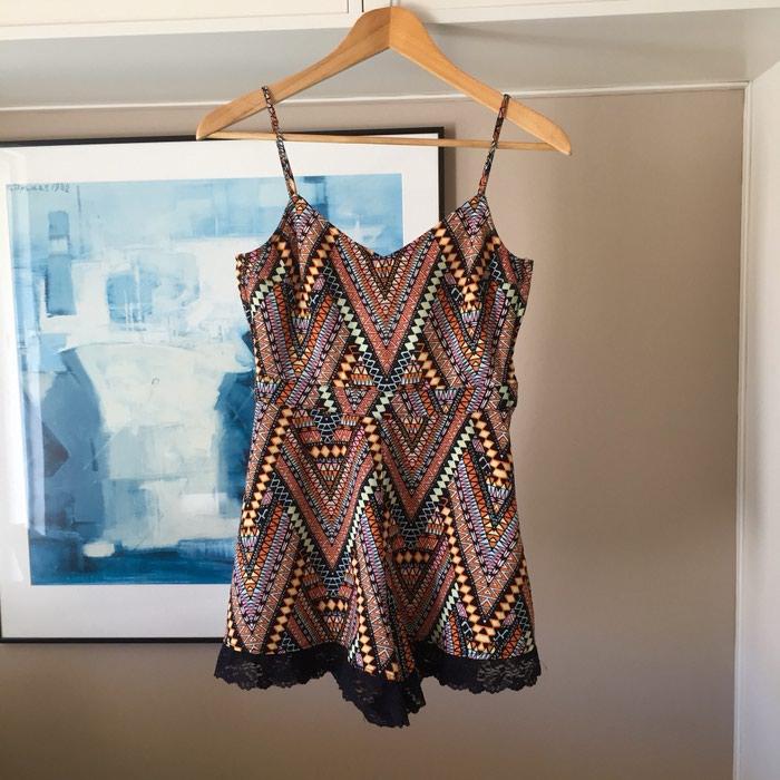 H&M κοντή αμάνικη ολόσωμη φόρμα. Tribal,. Photo 1