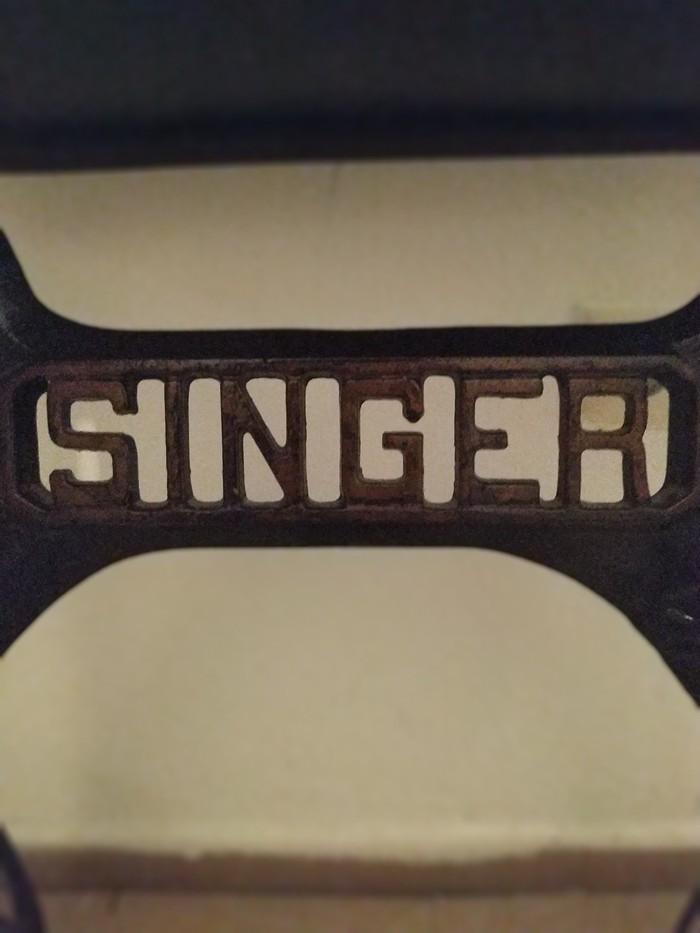 Αντίκα SINGER ραπτομηχανή. Photo 2