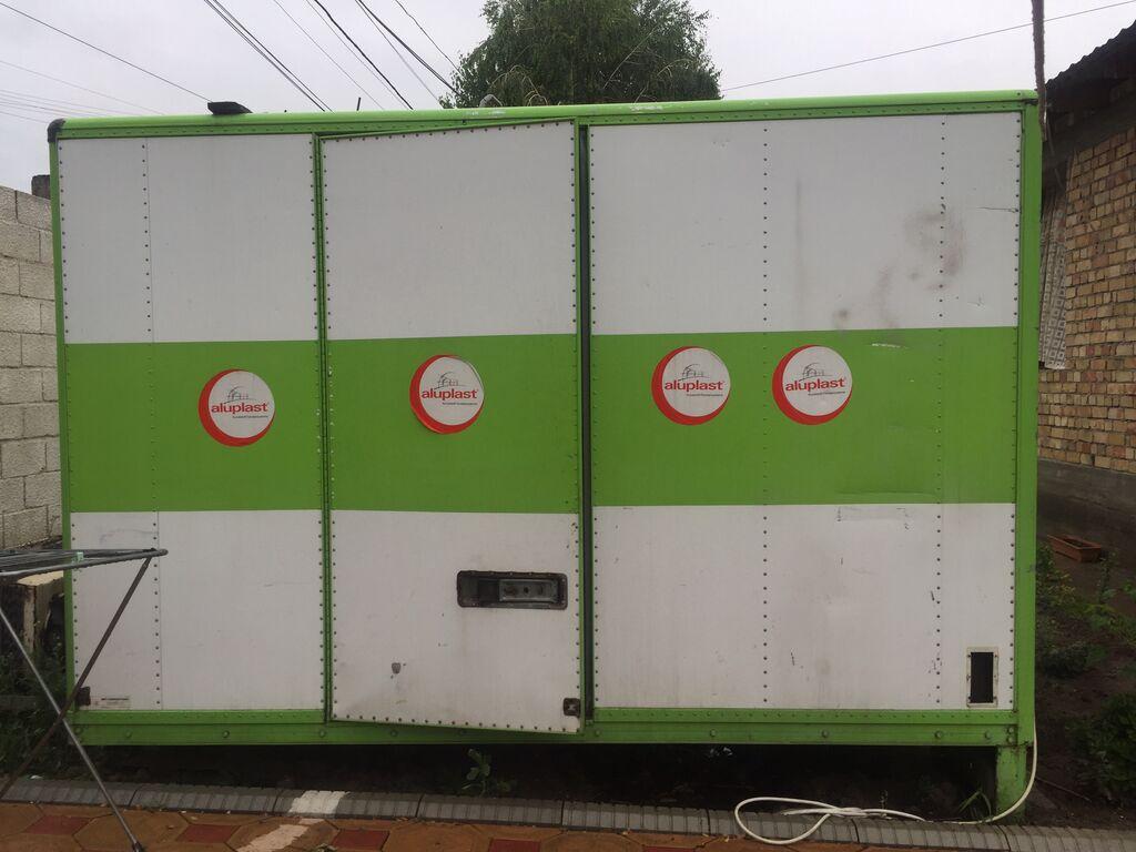 Б/у Зеленый холодильник