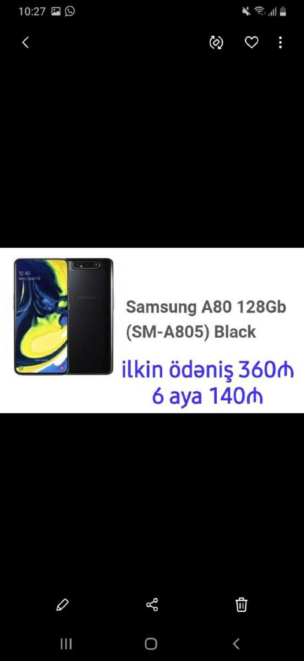 Yeni Samsung A50 128 GB