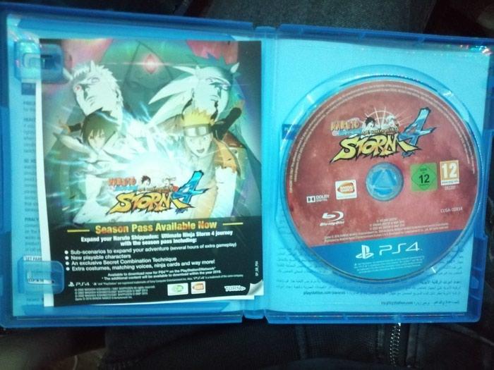 Ps4 oyunu Naruto Shippuden Ultimate Ninja Storm 4. Photo 1
