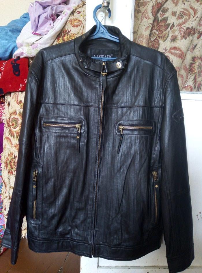 b737bdd47236 Кожаная куртка новая. Фирменная размер 2 xl .4000с., цена ...