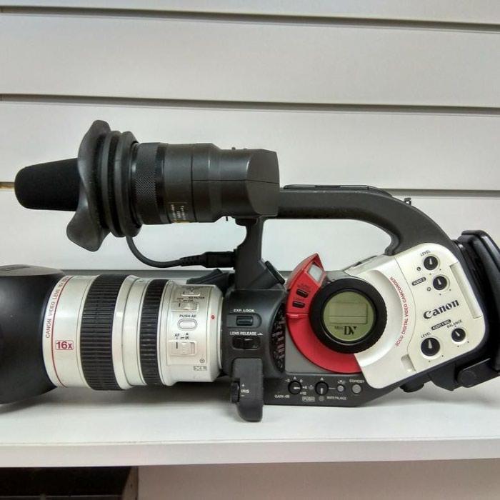 Продам видео камера Canon DM-XL1E камера в хорошем состоянии в Душанбе