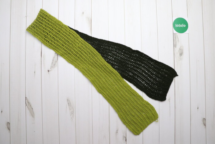 Комплект із в'язаних шарфа та шапки    Довжина шарфа: 177 см Довжина ш по цене: Бесплатно: Комплект із в'язаних шарфа та шапки    Довжина шарфа: 177 см Довжина ш