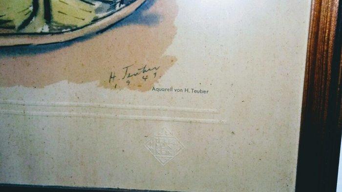 Παλια ακουαρελλα του 1941 απο το. Photo 1