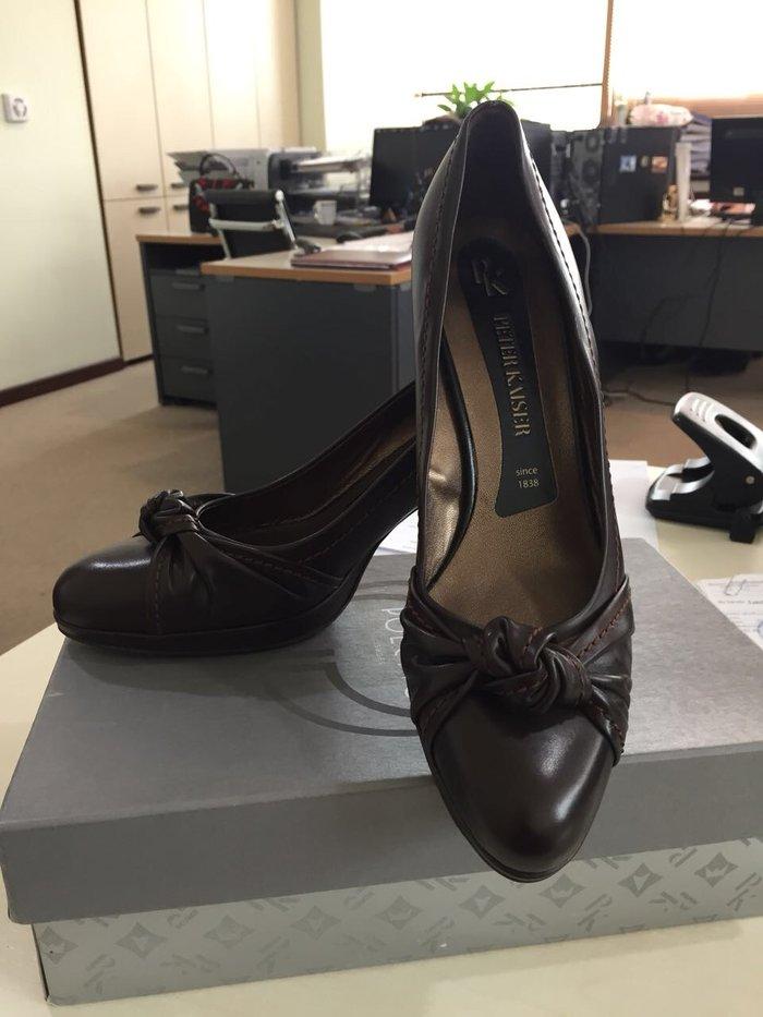 Туфли кожаные, размер 40 от Peter Kaiser. Photo 0