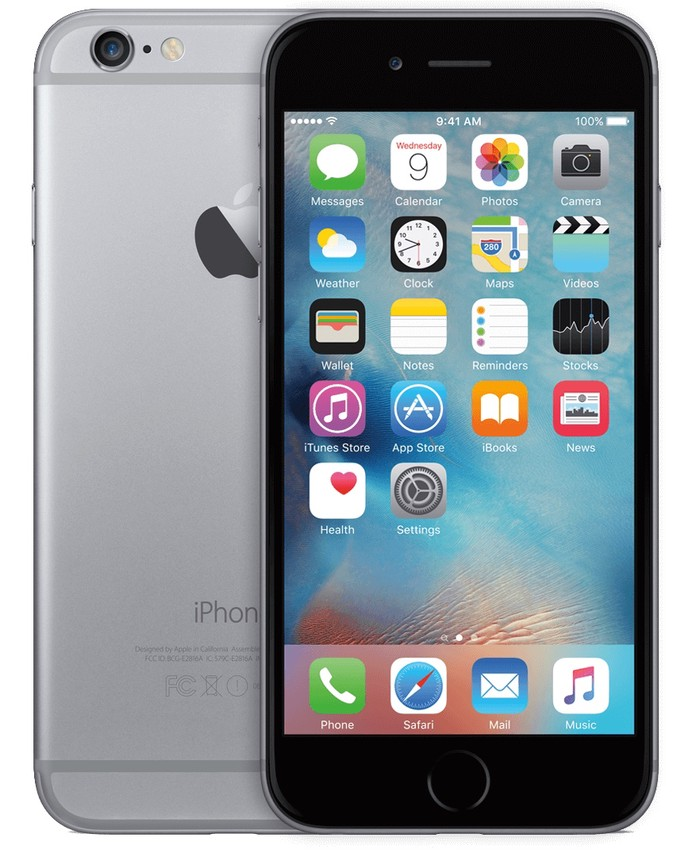 Iphone 6 16 гигабайт отпечаток кор намекна 3-4 царапина дора . Photo 0