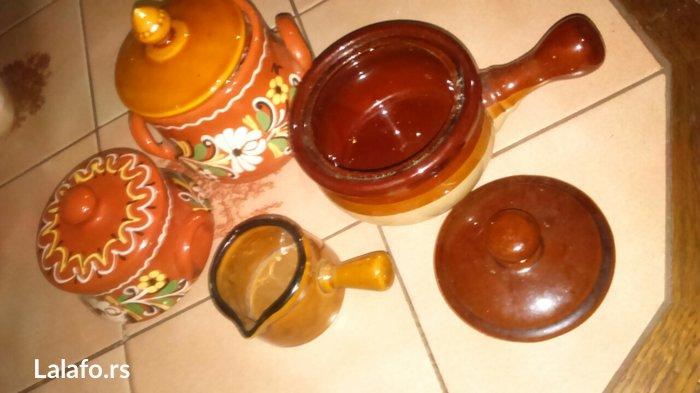 unikatne stvari Prelep set za kuhinju, može služiti za šećer, so, vege - Cuprija