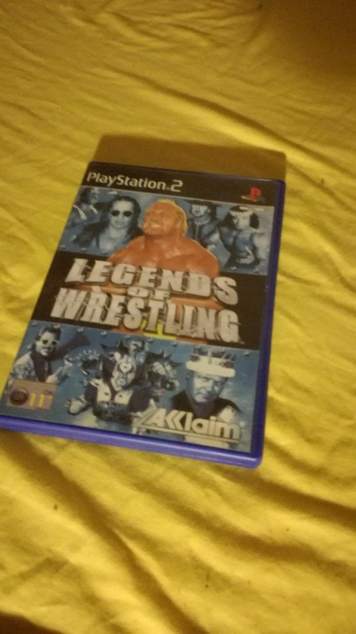 Legends of Wrestling Playstation 2 PAL Version σε Παλλήνη