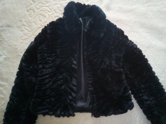 ΣΕΒΗ Μαυρο γουνακι κοντο. Photo 0