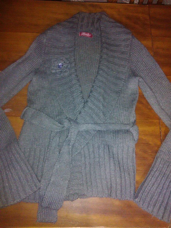 Vuneni džemper na preklop,  kao nov! - Kovacica