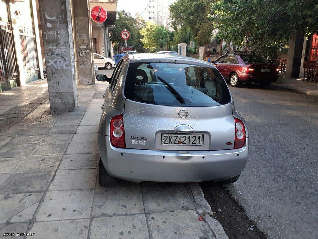 Nissan Micra 1.4 l. 2004 | 137000 km | η αγγελία δημοσιεύτηκε 16 Ιούλιος 2020 06:40:25: Nissan Micra 1.4 l. 2004 | 137000 km