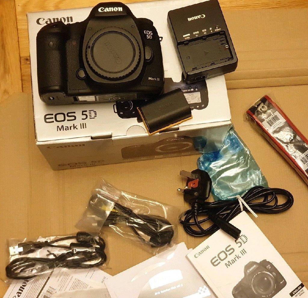 Brand New Canon 5D Mark III бо линзаи 24-105mm Рақами Whatsapp: +