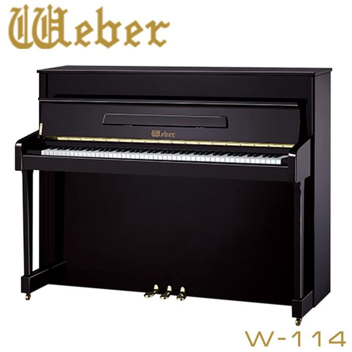 Фортепиано акустическое: Albert Weber W114 BP – это представитель модельной серии W, в которую входит ряд превосходных пиано с разнообразием дизайна внешнего вида и превосходным звучанием