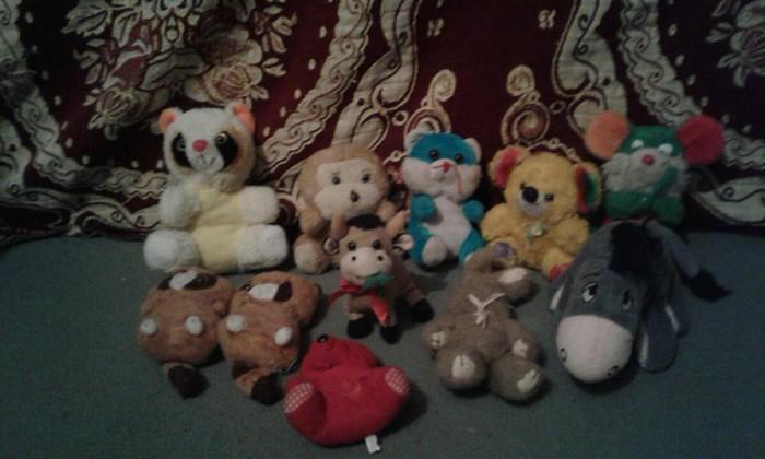 Мягкие игрушки для детей за всё беру 30с в Душанбе