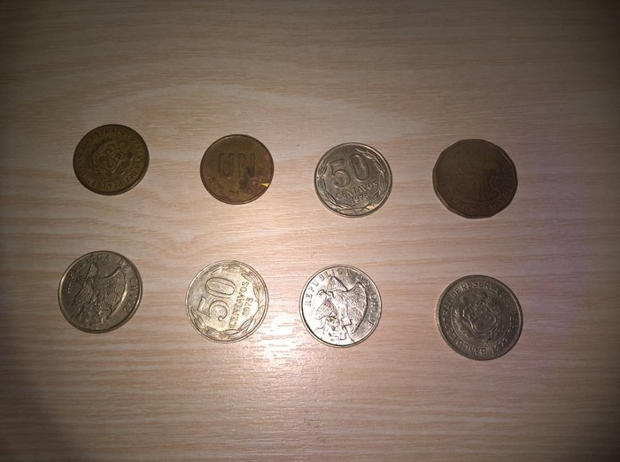 America νομίσματα. 35 Coins. USA: Quarter dollar (Liberty) 1965-1969, σε Αθήνα