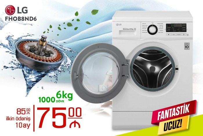 Dual Avtomatik Washing Machine LG 6 kg.. Photo 0