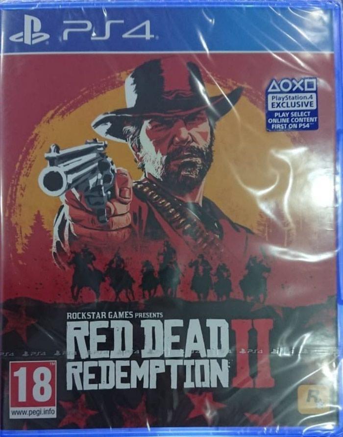 Ps4 üçün read dead redemption 2 oyunu  Yenidir bağlı