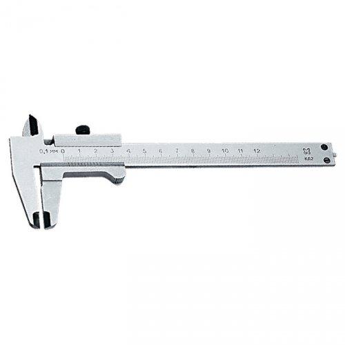 Штангенциркуль, 125 мм, цена деления 0,1 мм, класс 2, ГОСТ 166-89 (Эталон) производство Россия
