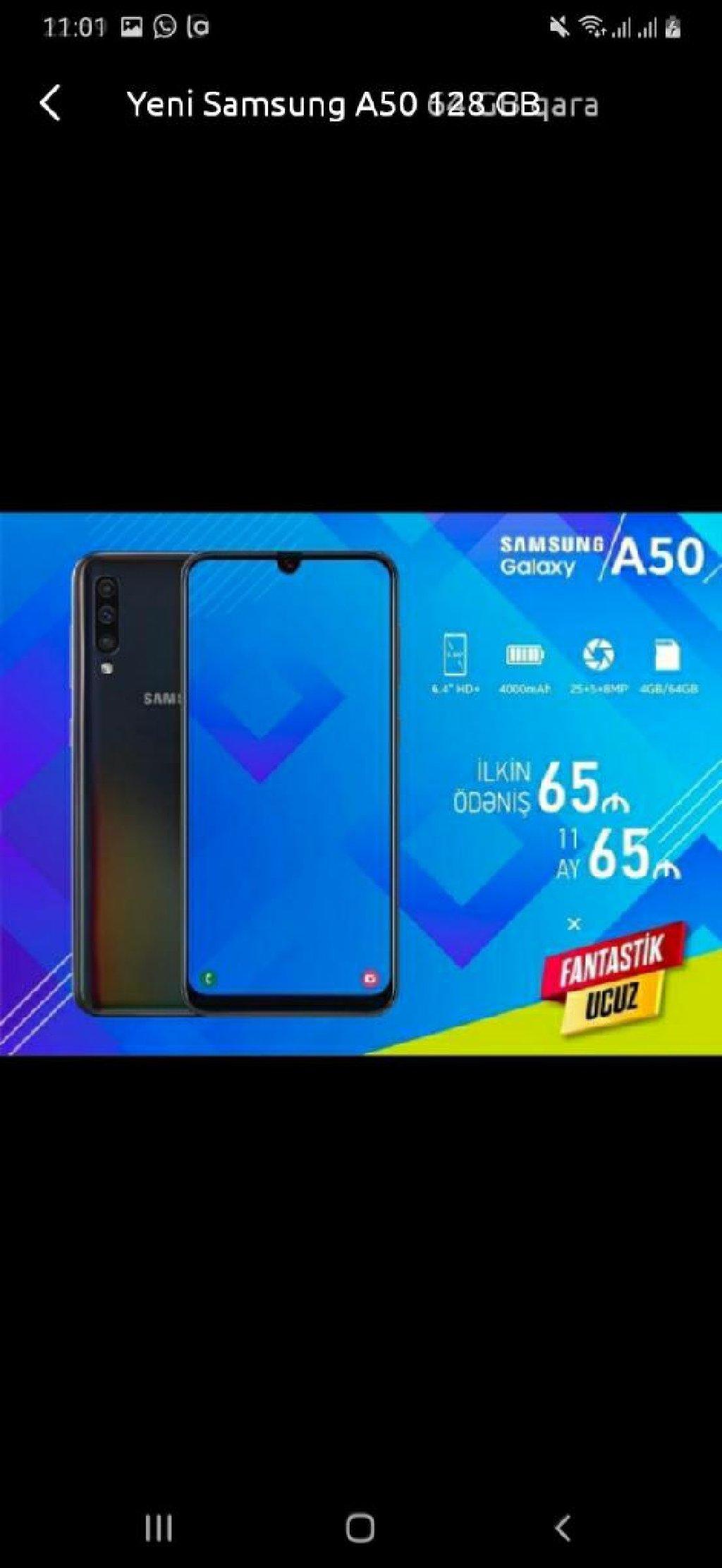 Yeni Samsung A50