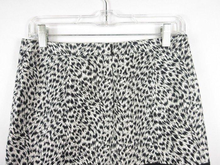 Καινούργια Michael By Michael Kors animal print μινι λευκή φούστα με μ. Photo 5
