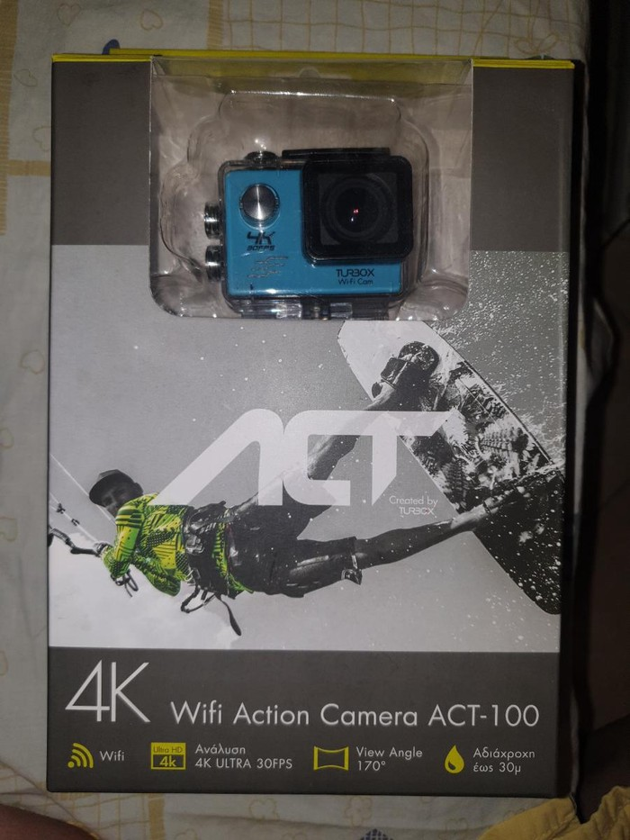 Action camera turbo x