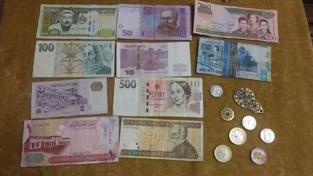 Xarici banknotlar. son qiymet 45