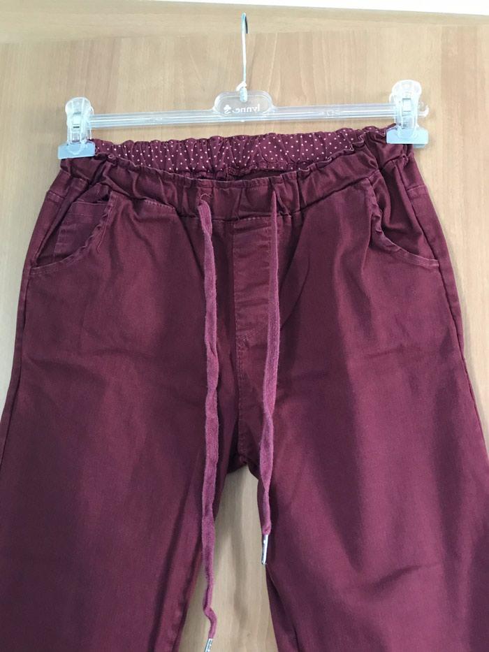 Υφασματινο παντελονι small medium, εχει φορεθει μια φορα, 7€ σε Παναγία