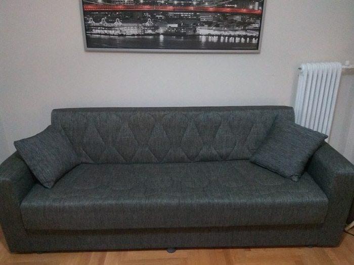 Καναπές-Κρεβάτι με αποθηκευτικό χώρο. Photo 0
