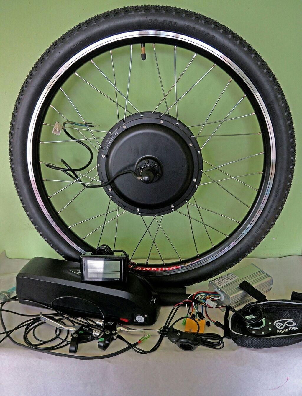 """Продается набор для велосипеда:Колесо 26"""" заднее - мощность 1000 Ватт: Продается набор для велосипеда:Колесо 26"""" заднее - мощность 1000 Ватт"""