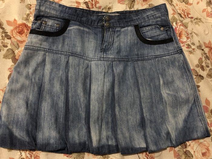 e7aff3b6150 Короткая джинсовая юбка. Размер M за 5 AZN в Баку  Юбки на lalafo.az