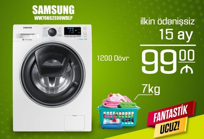 İkitərəfli Avtomat Washing Machine Samsung 7 kq.. Photo 0