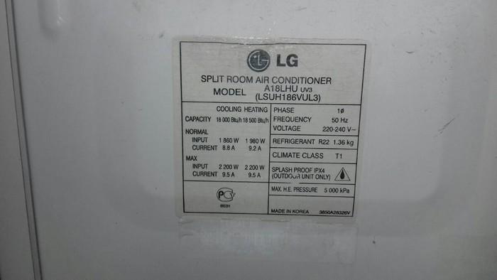 LG kondisoneri işlekdi 80 kvm. Photo 1