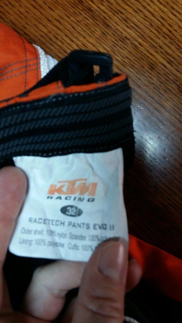 KTM RACING pantalone za motor 32 neoštećene nošene. Photo 3