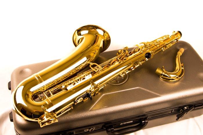 Yamaha Tenor Saxophone Yts475. Photo 0