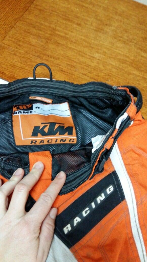 KTM RACING pantalone za motor 32 neoštećene nošene. Photo 2