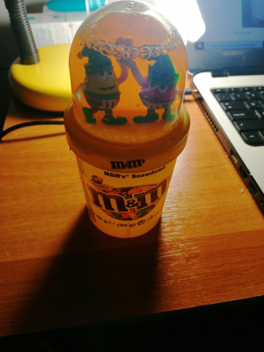 M&m's Snow Globe limited edition. No candy inside