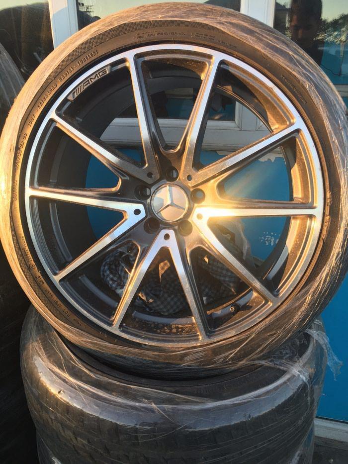 Mercedes s-class 20 disk. Disk təzədir. Təkərləri təzə nexendir.. Photo 0