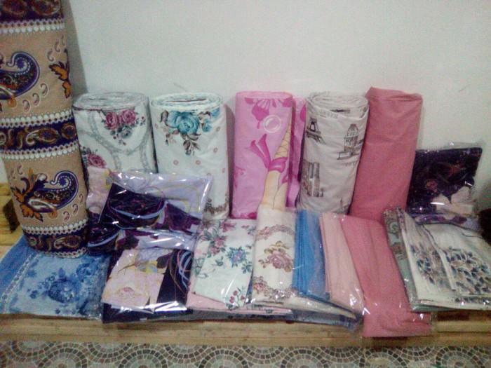 Her nov cewidde yataq destleri satilir qowa kravat desti 35 man tek kravat desti 25 man