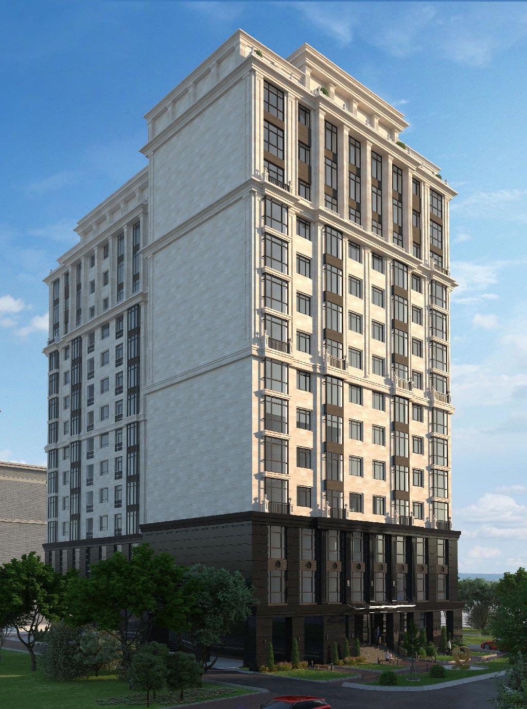 14 этажный жилой дом бизнес класса *SUNRISE* по адресу ул
