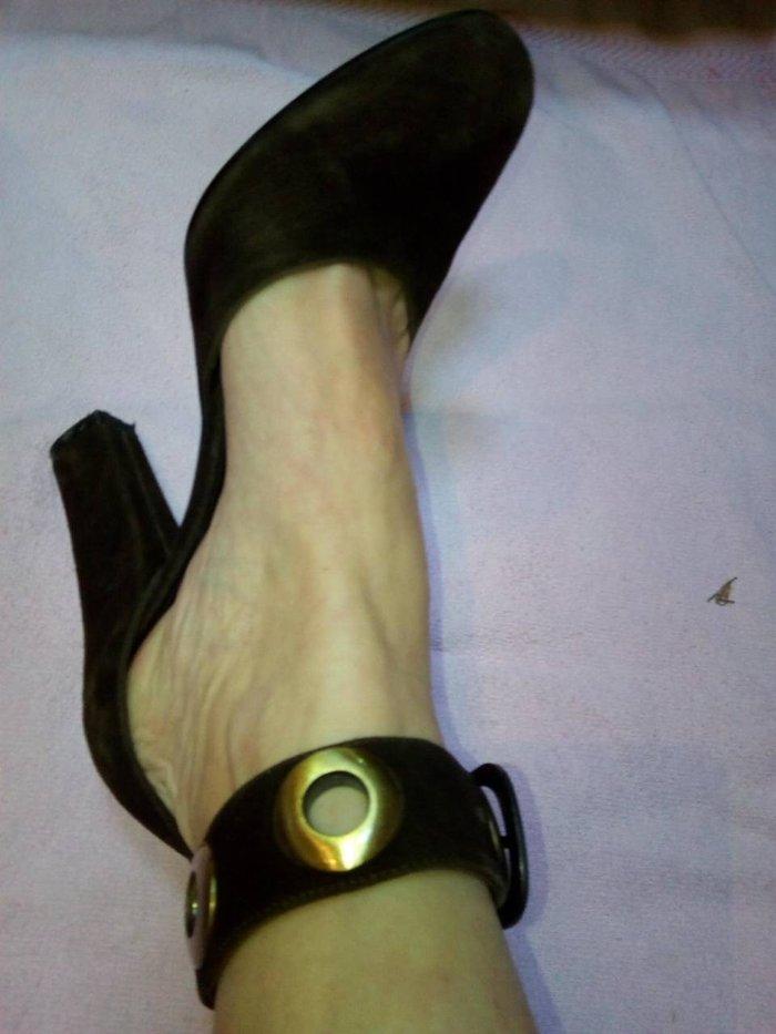 Sandale od antilopa udobne kap nove br37
